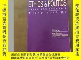 二手書博民逛書店Ethics罕見and Politics Cases and C
