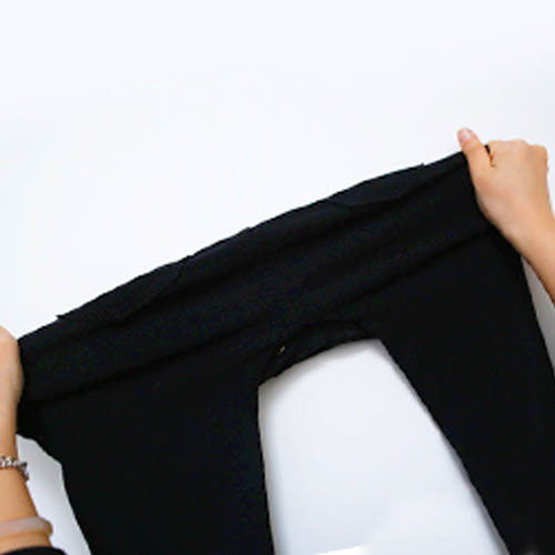 MIUSTAR 韓國激瘦純黑-5KG彈力水洗斜紋長褲(共1色,S-L)【NF0435PG】預購