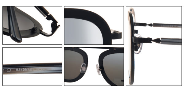 STEALER 太陽眼鏡 KARMA C01M (黑) 現代時尚飛行水銀鏡面款 # 金橘眼鏡