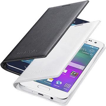 [公司貨] Samsung GALAXY A3 原廠皮革翻頁式皮套 A300YZ