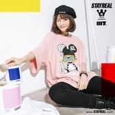 STAYREAL x MOLLY 小畫家寬版T