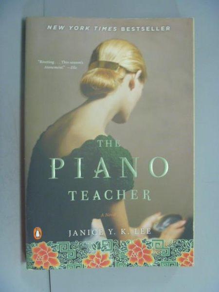 【書寶二手書T7/原文小說_LOA】The Piano Teacher_Janice Y. K. Lee, Janice