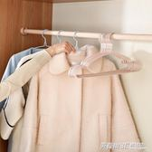 衣架家用無痕多功能晾衣服架防滑衣掛兒童衣架撐子曬掛衣架子掛鉤ATF  英賽爾