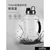 超大容量tritan材質耐高溫運動水杯健身水壺戶外便攜水瓶防爆【全館免運】