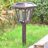 家用超亮太陽能草坪燈防水花園插地室外照明LED戶外歐式庭院路燈 全館免運