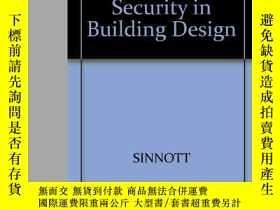二手書博民逛書店Safety罕見and Security in Building