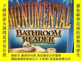 二手書博民逛書店MONUMENTAL罕見BATHROOM READERY2477