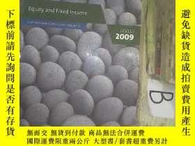 二手書博民逛書店Equity罕見and Fixed Income:CFA Program Curriculum Volume 5,