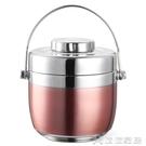 便當盒 手提不銹鋼保溫提鍋飯盒雙層創意日式分格學生2層保溫桶湯 - 【618特惠】