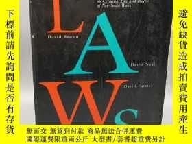 二手書博民逛書店【英文原版法律相關】Criminal罕見Laws ——Mater