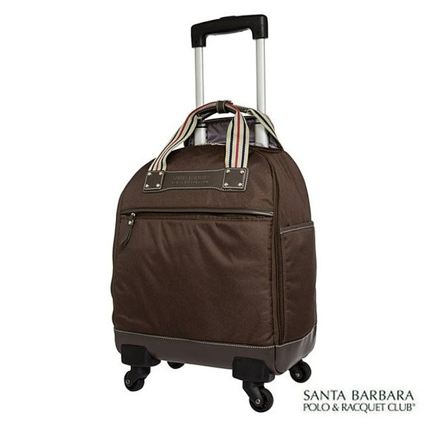 拉桿箱 Santa Barbara 15吋 輕旅遊 多功能 多色 好收納 加西亞拉桿 行李箱 登機箱 PO13K15