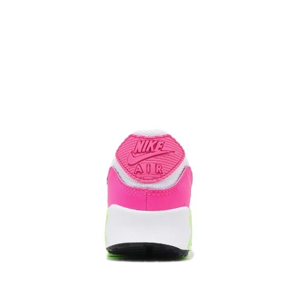 Nike 休閒鞋 Wmns Air Max 90 白 粉 女鞋 氣墊 運動鞋【ACS】 CT1030-100