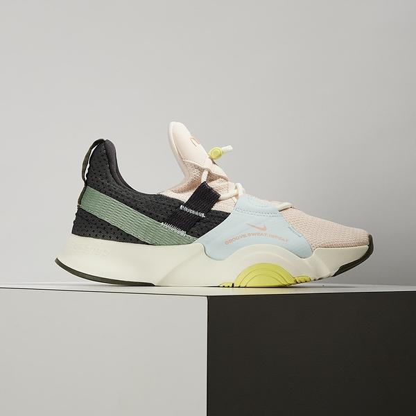Nike WMNS Superrep Groove 女 粉黑 避震 包覆 健身 有氧 舞蹈鞋 DJ0039-861