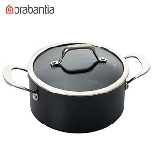 荷蘭BRABANTIA Tritanium鈦系列24公分雙耳湯鍋5L