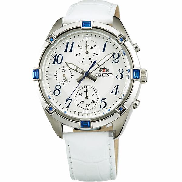 ORIENT 東方錶 SPORTY DESIGN 超人氣運動手錶-38mm FUY04006W