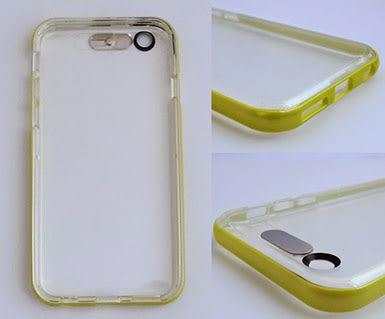 ROCK Apple iPhone 6/iPhone 6S 邊框保護殼 炫彩系列 4色可選 可加購保護貼更超值