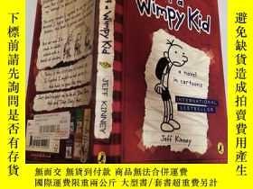 二手書博民逛書店diapy罕見of a wimpy kid 軟弱無力的孩子的尿布。Y200392