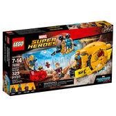 【LEGO 樂高積木】 SUPER HEROES 超級英雄系列-星際異攻隊2 艾雅莎的復仇 LT-76080