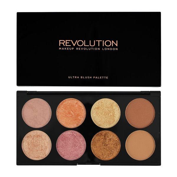 英國 Makeup Revolution Ultra Blush Golden Sugar 2 打亮修容盤
