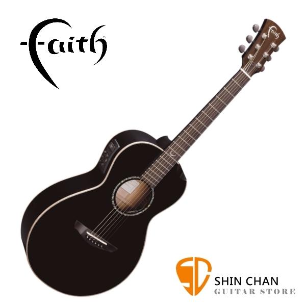 Faith 英國名牌 FECM-BNC 41吋 全單板 可插電 民謠吉他 附贈吉他硬盒 CASE 印尼製