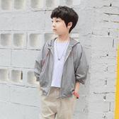 黑五好物節童裝男童防曬衣2018夏季新款兒童透氣薄款外套空調衫中大童韓版潮 熊貓本