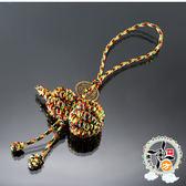 葫蘆五色線吊飾  + 平安小佛卡【十方佛教文物】