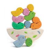 【美國Tender Leaf Toys】鳥巢平衡疊疊樂(手眼協調堆疊遊戲)