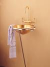 【麗室衛浴】復古型  不銹鋼  鈦金盆  直徑41.9cm