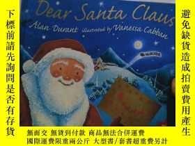 二手書博民逛書店實物拍照;Dear罕見Santa Claus(英文原版幼兒彩圖書