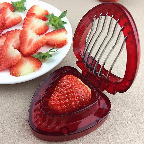 切草莓神器草莓切片器草莓切片機蛋糕水果拼盤廚房切草莓分割工具