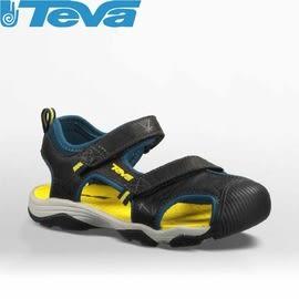 【TEVA 美國 童 Toachi 3 k 護趾涼鞋 海軍黃】110065CNYLL/運動涼鞋/海灘鞋/涼鞋/休閒涼鞋★滿額送