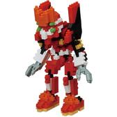 《 Nano Block 迷你積木 》CN-22福音戰士貳號機 / JOYBUS玩具百貨
