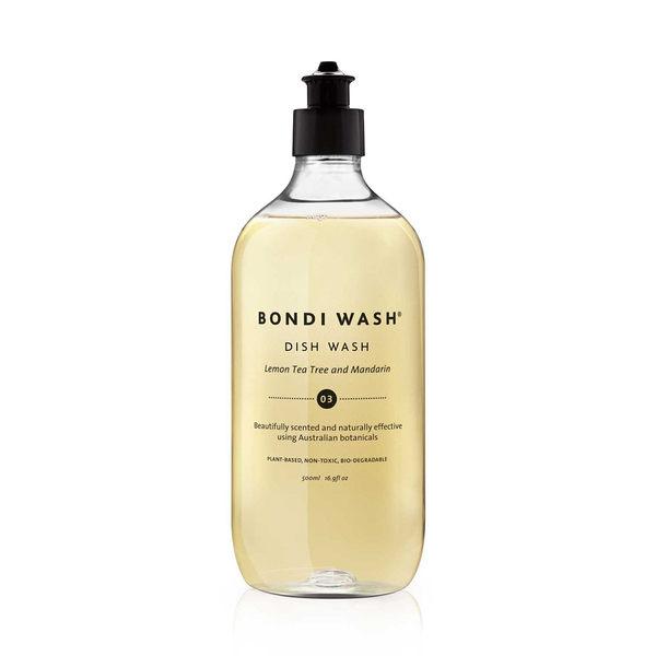 Bondi Wash Dish Wash Lemon Tea Tree & Mandarin 500ml, 居家清潔系列 碗盤清潔液 檸檬茶樹&柑橘口味
