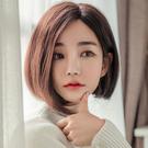 側分韓式短髮 全長約33公分 仿真頭頂 抗菌內網 100%頂級整頂真髮 【MR93】