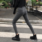 孕婦褲褲子秋冬款孕婦牛仔褲外穿冬季打底加絨加厚小腳褲秋裝冬裝 潮流時