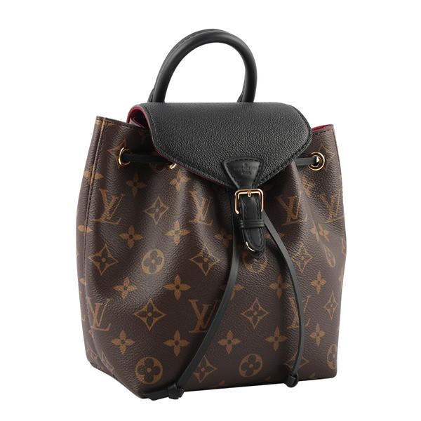 【LV】MONTSOURIS BB 多用後背包(咖啡色/黑色) M45516