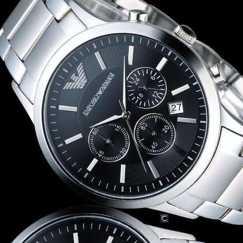 EMPORIO ARMANI Classic 時尚計時腕錶 AR2434