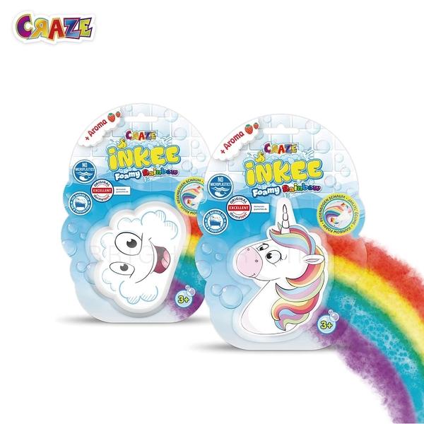 德國CRAZE驚奇泡泡球-七彩彩虹(兩款隨機出貨)
