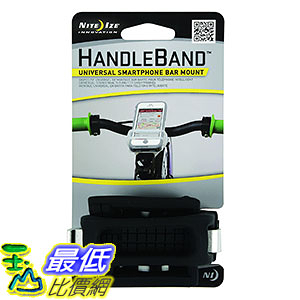 [美國直購] Nite Ize 黑色 腳踏車自行車強力手機固定架 Bike Phone Mount, Cell Phone Handlebar Bicycle Mount