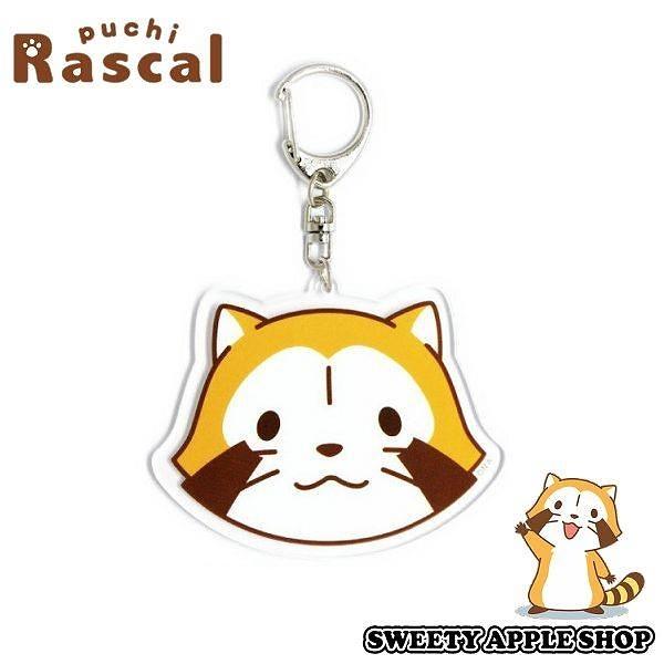 日本限定 Rascal 小浣熊 吊牌鑰匙圈