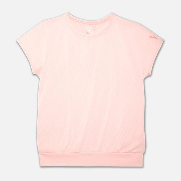 BROOKS 19FW 短袖 透氣 排汗 圓領 羽量 女 ARRAY短袖系列  221340692【樂買網】