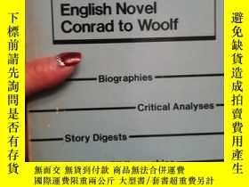 二手書博民逛書店Magill罕見Surveys English Novel Co