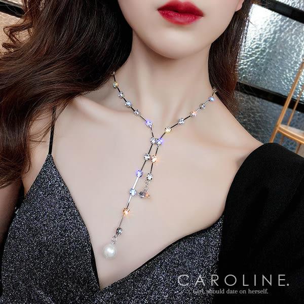《Caroline》★韓國熱賣造型時尚 優雅性感項鍊70745