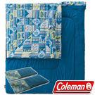 Coleman CM-27257 2 in 1可雙拼連接信封型家庭睡袋