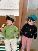 兒童毛衣棉小班男童針織衫秋冬新款寶寶恐龍長袖毛線衫兒童洋氣毛衣潮 限時特惠