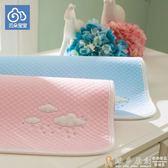 隔尿墊 新生嬰兒童寶寶純棉防水透氣隔尿墊 成人大號可洗經期姨媽墊子 免運