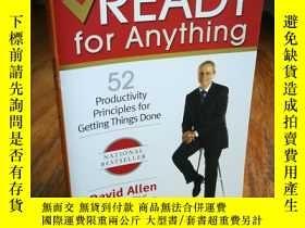 二手書博民逛書店Ready罕見for Anything: 52 Producti