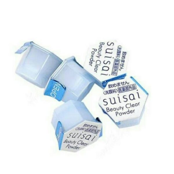 Kanebo佳麗寶 suisai 酵素洗顏粉(藍) 0.4g(單顆)