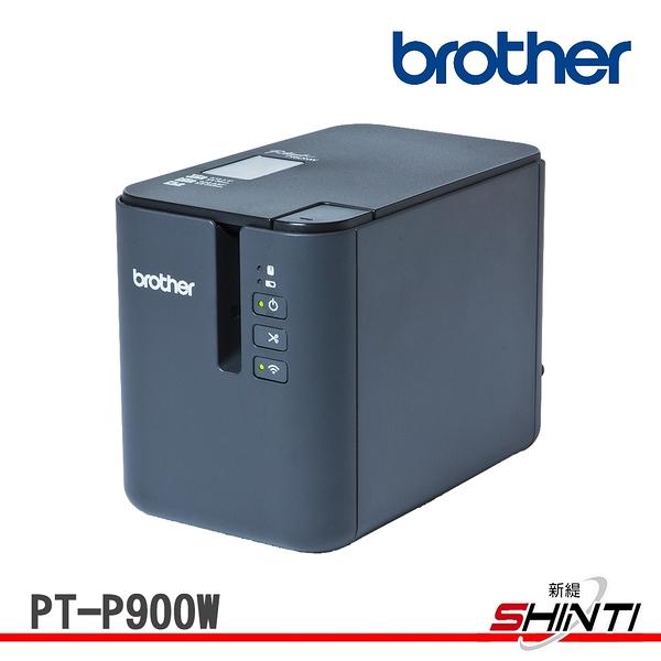 Brother PT-P900W 桌上型財產工業條碼標籤機 可全切 3.5~36mm