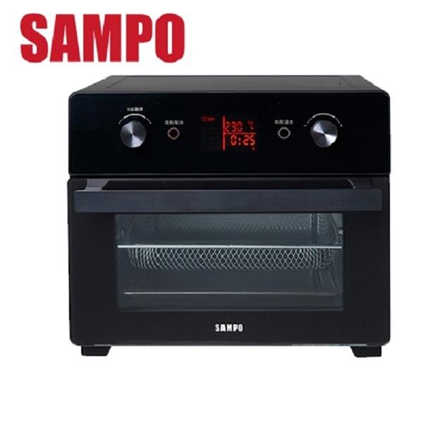 SAMPO 聲寶 21L微電腦多功能氣炸烤箱 KZ-XA20B ***免運費***